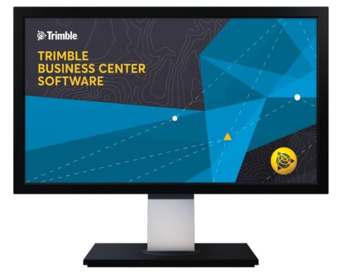 Dữ liệu từ Máy toàn đạc điện tử Trimble C5 hoàn toàn có thể được quản lý, xử lý và tạo sản phẩm trên phần mềm Trimble Business Center