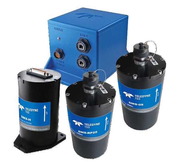 Thiết bị cảm biến chuyển động DMS được dùng phổ biến trong công tác khảo sát thủy đạc