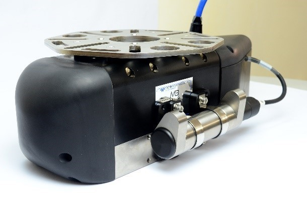 Thiết bị SVP-70 lắp vào mặt bên của đầu dò MB2