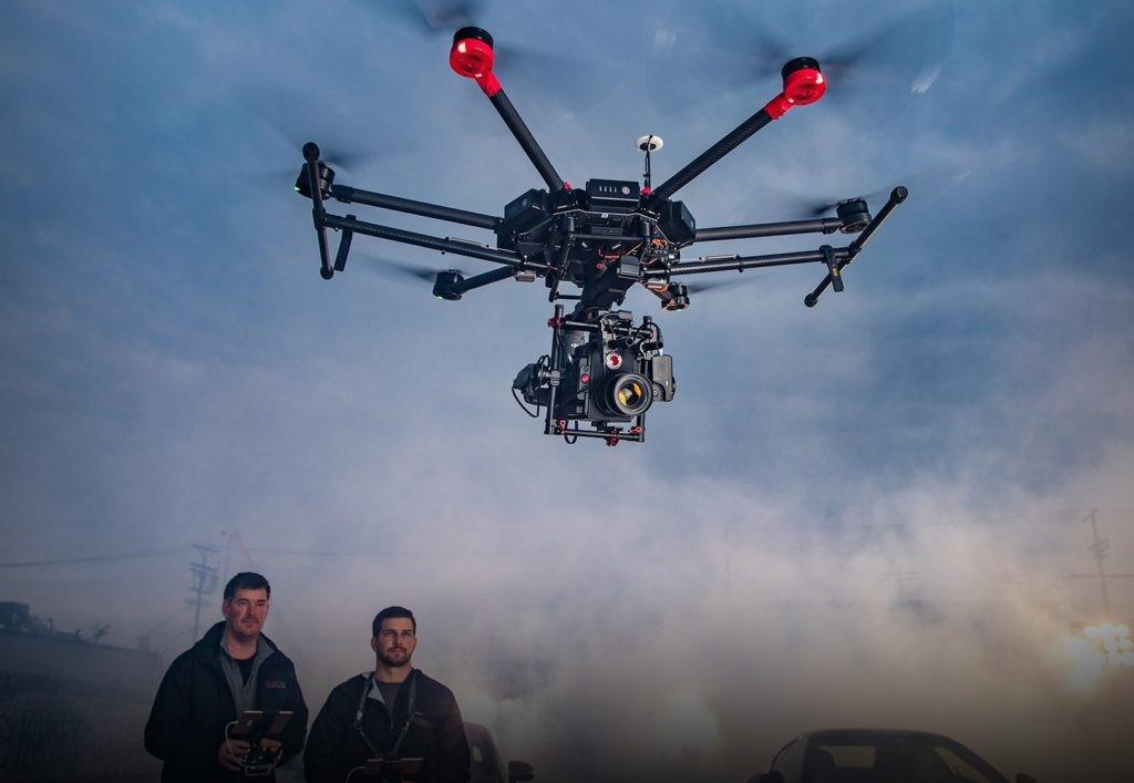 Máy bay không người lái Matrice 600 Pro ứng dụng nhiều trong khảo sát trắc địa chuyên nghiệp