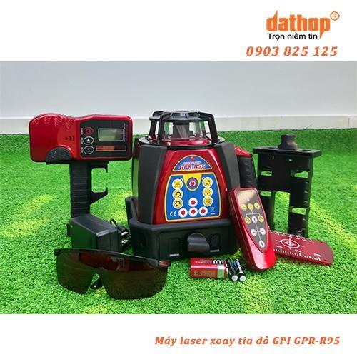 Máy quét tia laser xoay GPR-R95