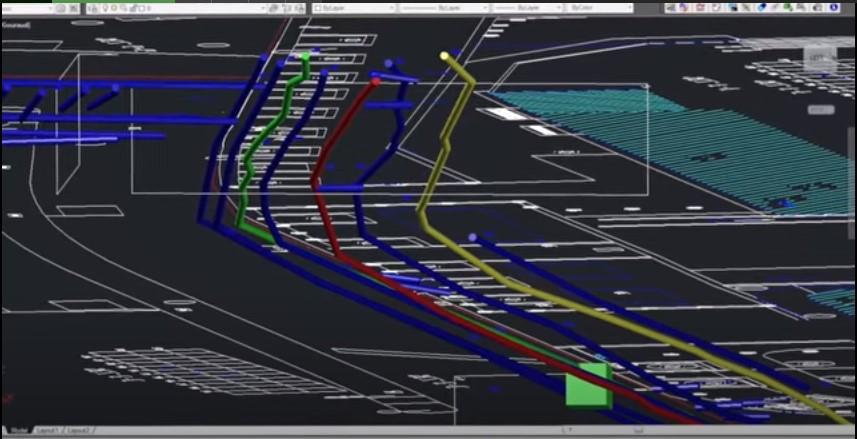 Bản đồ số hoá công trình ngầm