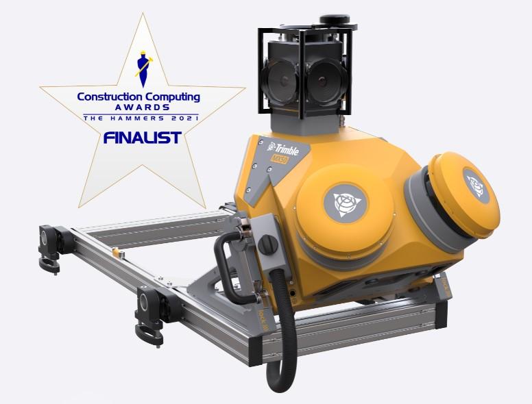 Máy scan laser 3D di động Trimble MX50