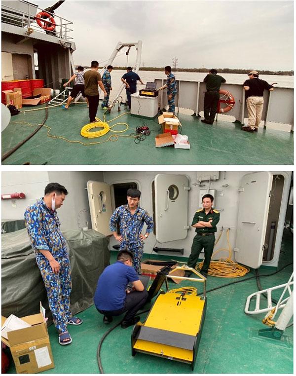 Chuyển giao công nghệ đo địa tầng đáy biển cho khách hàng