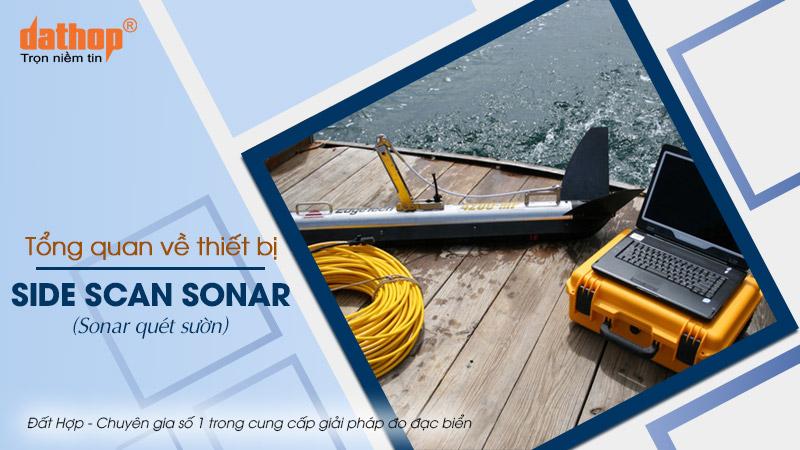 Thiết bị side scan sonar