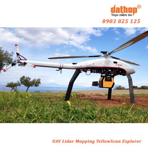 UAV Lidar Mapping YellowScan Explorer